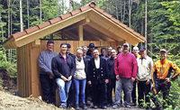 Wanderschutzhütte erneuert