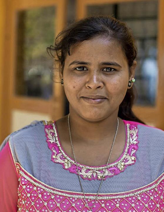 Dieses Bild von einer Schülerin in Ind...enbank in Gundelfingen zu sehen sind.   | Foto: Carlotta Huber/Andrea Steinhart