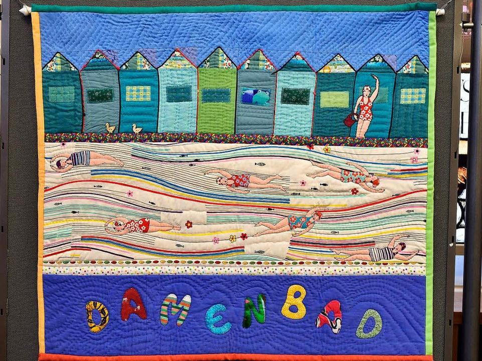 Ein Quilt vom Bad, erschaffen von Gertraud Bissinger  | Foto: Thomas Kunz