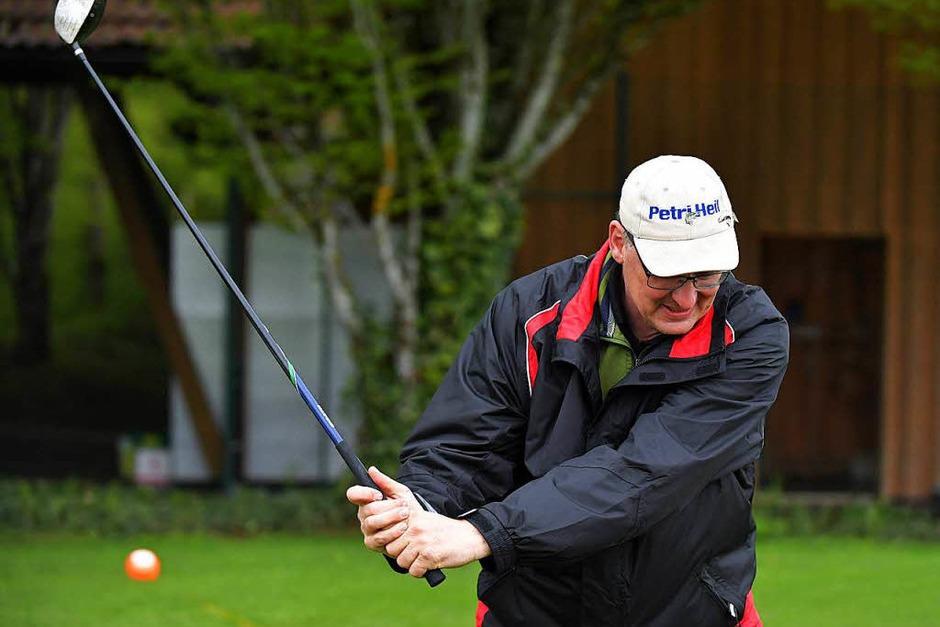 Viel Spaß gab es für kleine und große Interessierte am Golfsport. (Foto: Wolfgang Scheu)