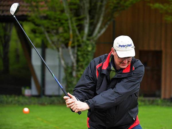 Viel Spaß gab es für kleine und große Interessierte am Golfsport.