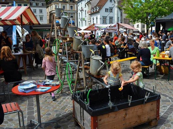 Impressionen vom Eco-Festival in Basel