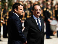 Frankreich feiert Amtsantritt von Emmanuel Macron