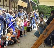 Rund 6000 Besucher kommen zum Mittelalterfest auf den Mundenhof