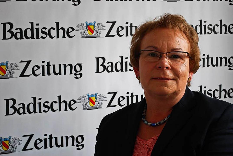 Wiedergewählt: Bürgermeisterin Hannelore Reinbold-Mench  | Foto: Jahn