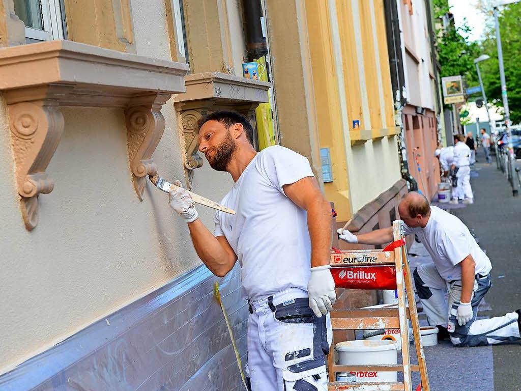 graffiti freie w nde im sedanquartier sind am n chsten tag wieder beschmiert freiburg. Black Bedroom Furniture Sets. Home Design Ideas