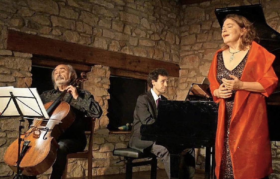 """""""Auf dem Strom"""": Sopranist...r bei der Schubertiade in Bollschweil     Foto: Anne Freyer"""