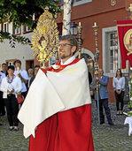 Gläubige feiern Patrozinium