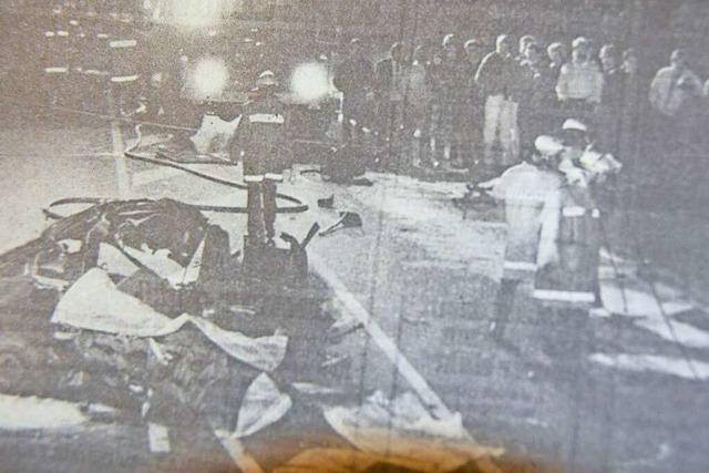 Vor 30 Jahren starben bei Offenburg sechs junge Menschen