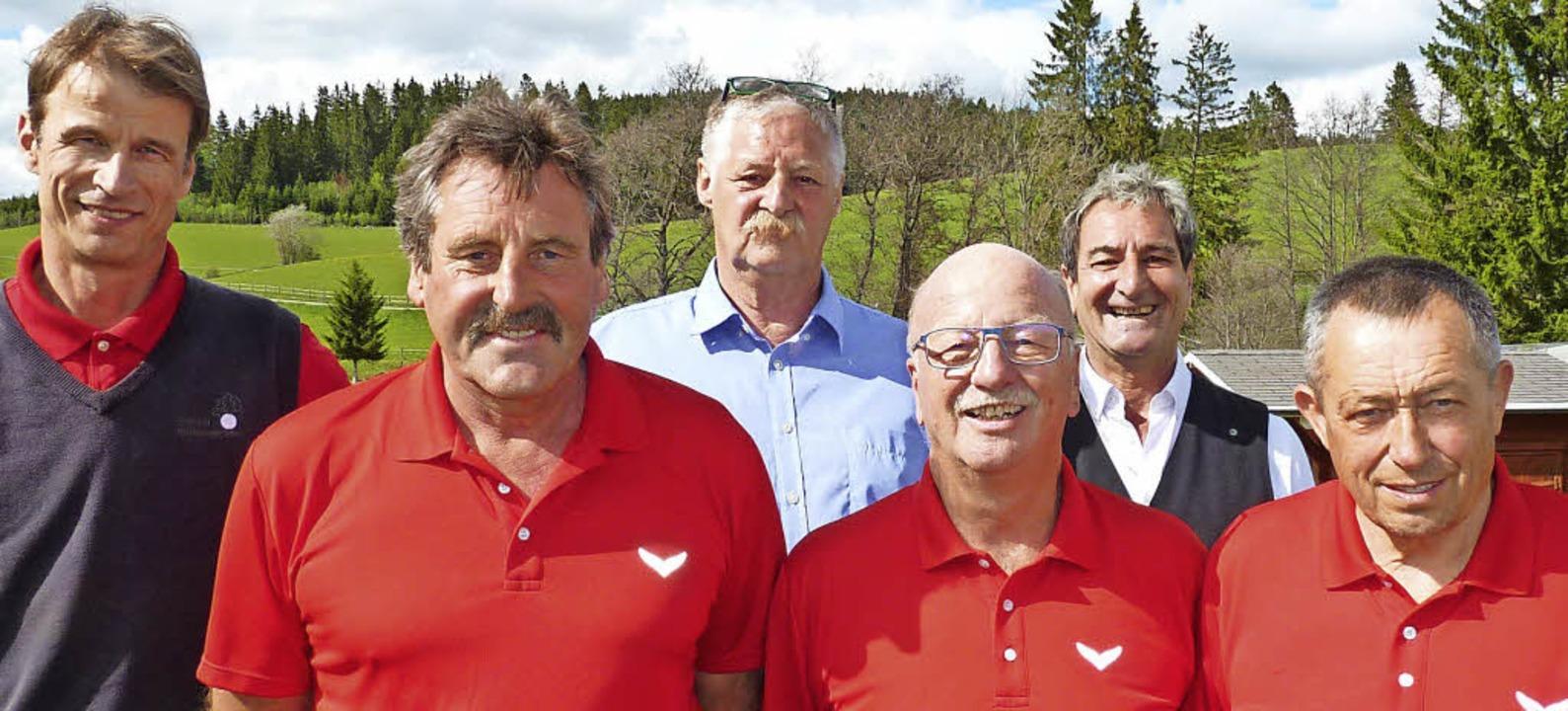 Das AK 50-Team: (von links) Markus The...her, Franco Russo und Alfred Heinrich.  | Foto: Heidrun Simoneit