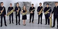 Christoph Kirschkes Freiburger Saxophonensemble spielt in Kirchzarten
