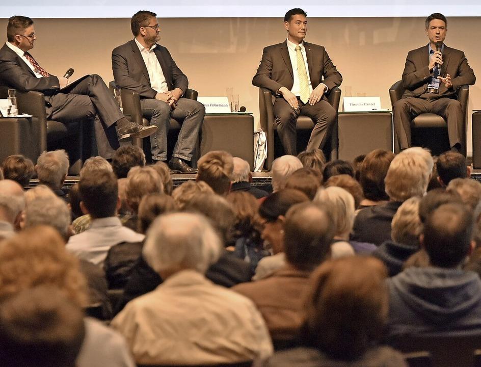 Die Bürgermeisterwahl in Denzlingen polarisiert.   | Foto: Michael Bamberger