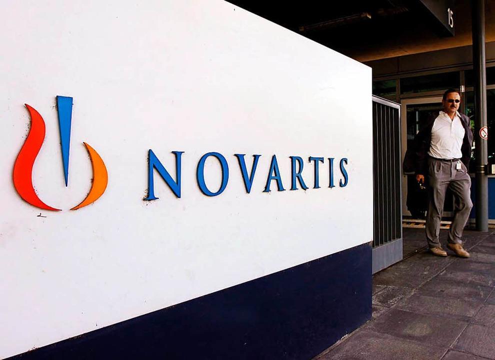 Novartis baut 500 Stellen ab, baut aber 350 neue auf.  | Foto: epa Keystone Steffen Schmidt