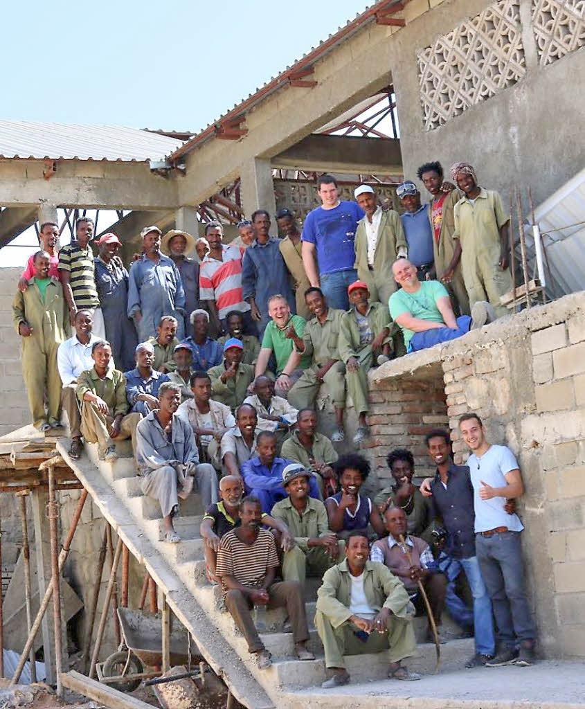 l rracher helfen erneut beim bau einer kinderklinik in eritrea l rrach badische zeitung. Black Bedroom Furniture Sets. Home Design Ideas