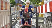 Wenig Barrierefreiheit in Gundelfingen