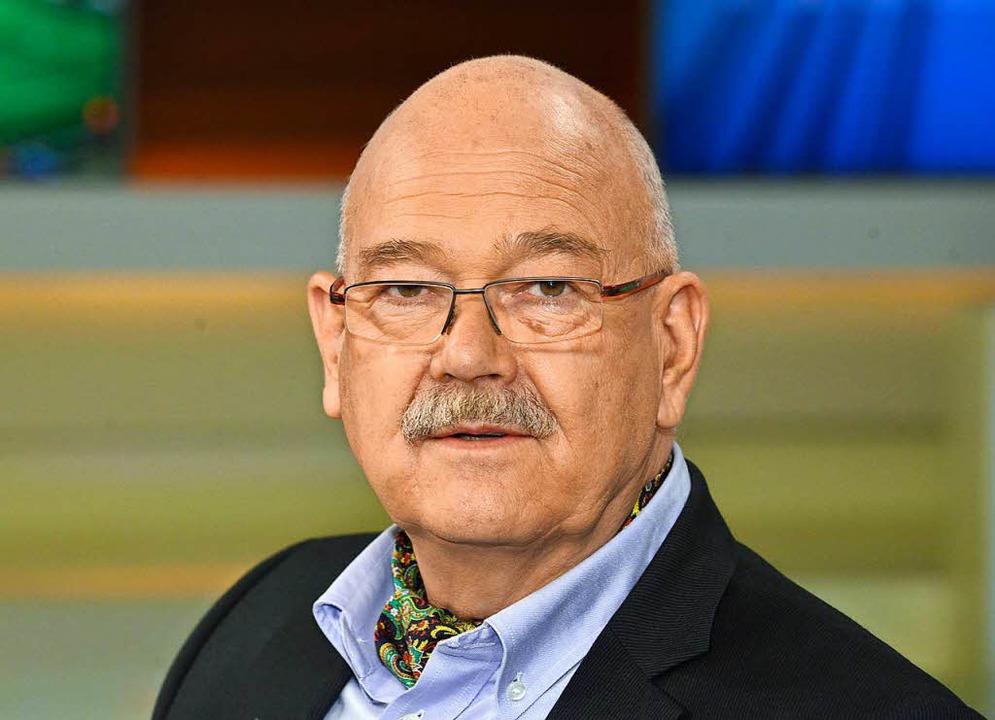Der Journalist Rolf-Dieter Krause  | Foto: dpa
