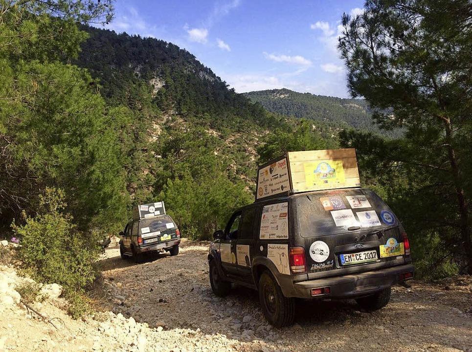 Aufnahmen der Charity Explorers aus de...woche auf ihrer Tour durch die Türkei.  | Foto: Privat
