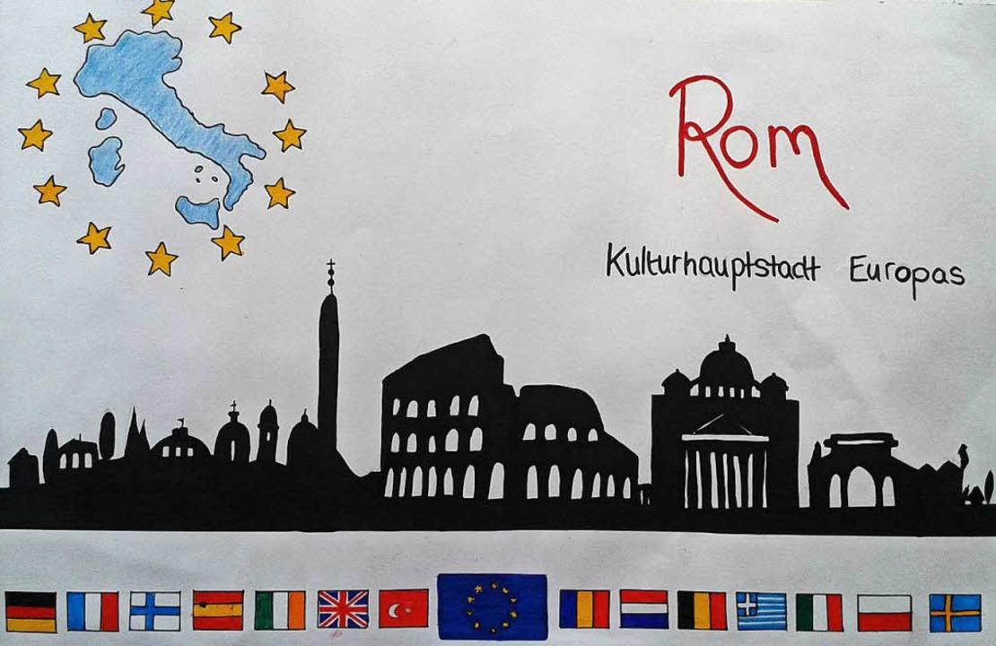 Einen Gruppen-Landespreis erhielten be...lugn Rom als Kulturhauptstadt Europas.  | Foto: Eva Korinth