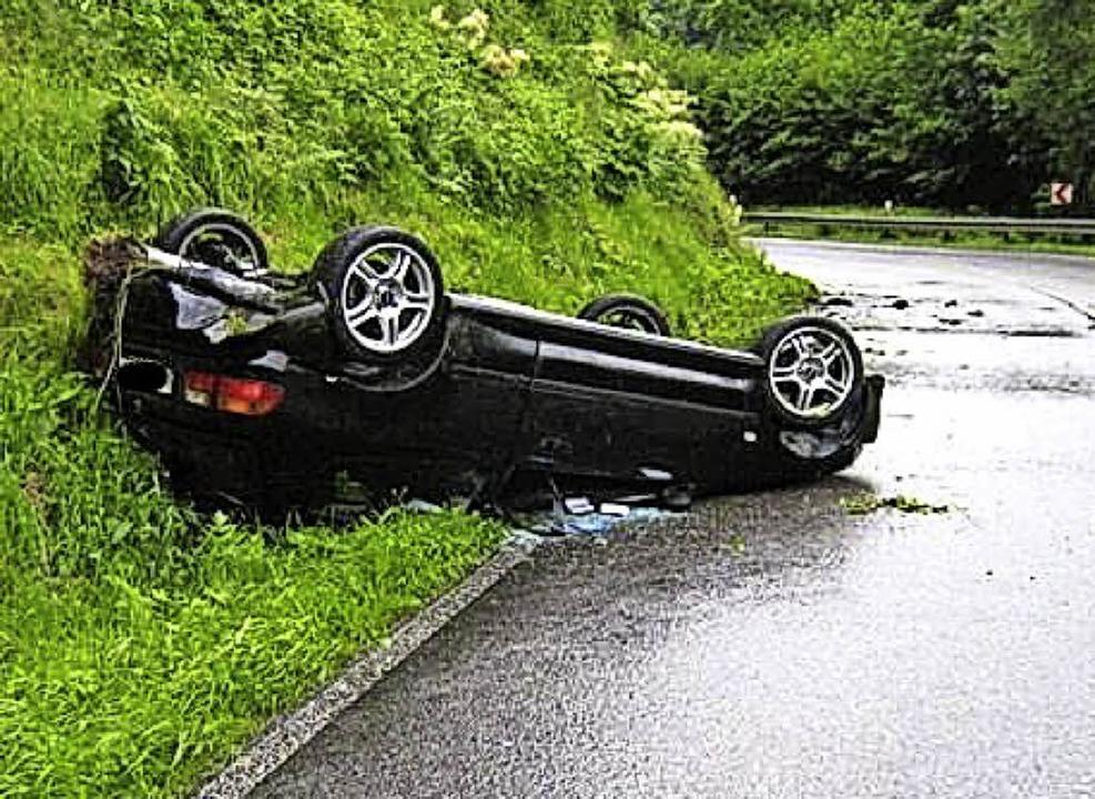 Die Grendel-Kurve ist berüchtigt, weil dort teils schwere Unfälle passieren.   | Foto: Archiv
