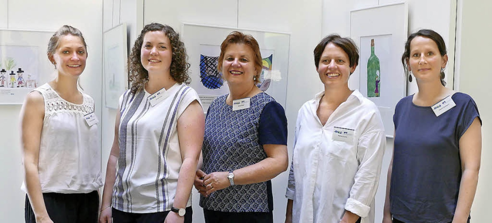 Das Maks-Team (von links) mit Johanna ...trizia Covini und  Claudia Quilitzsch.  | Foto: Marie Wintergerst
