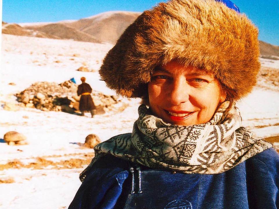 Amélie Schenk im Winter in der Mongolei  | Foto: Privat