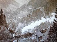 Ein tragischer Tod überschattete die Jungfernfahrt der Höllentalbahn