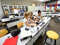 Das Deutsch-Französische Gymnasium wird renoviert