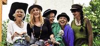 Mit Frauenpowerband Miss Moneypenny in Neuenburg