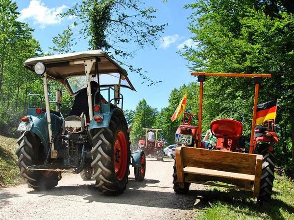Impressionen vom Traktorentreffen in Wittnau