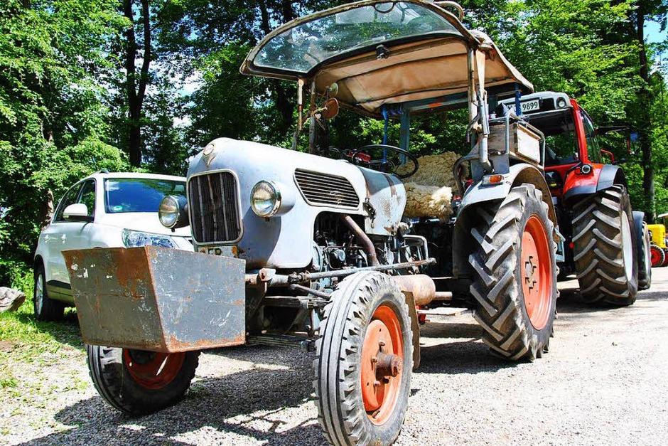 Impressionen vom Traktorentreffen in Wittnau (Foto: Ralph Fautz)