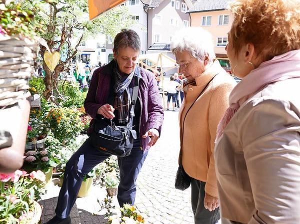 Erlebnisreich verlief das Bonndorfer Frühlingsfest. Auch kulinarisch war viel geboten. In den Geschäften war ausreichend Zeit zum Stöbern.