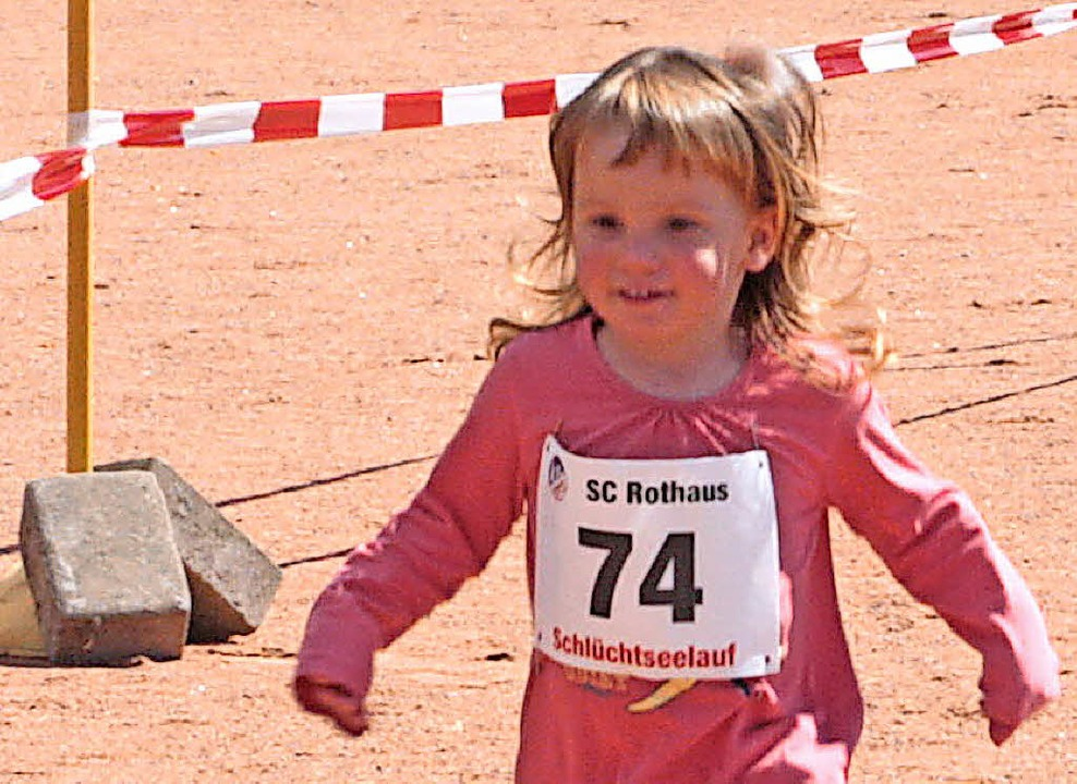 Lilliy Heidinger war die jüngste Teilnehmerin.  | Foto: Dorothée Kuhlmann