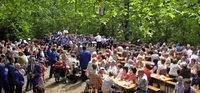 Musikverein Buchenbach in der Burgruine Wiesneck