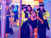 Fotos: Bombenanschlag bei Popkonzert in Manchester