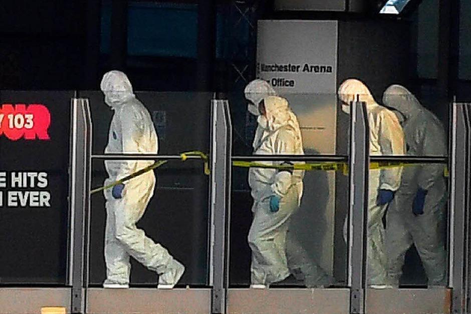 Bei einem Konzert des US-Popsternchens Ariana Grande in Manchester gab es eine Explosion mit vielen Toten. (Foto: AFP)