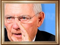 Ortenauer Maler porträtiert Wolfgang Schäuble