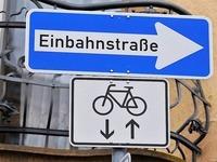 Das Fahrradklima in Lörrach: Meist heiter, teils wolkig