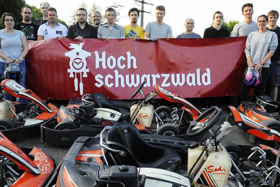 Diese 14 Starter wollten ins HTG-Team. (Foto: Markus Zimmermann)