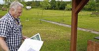 Bogensportler auf Standortsuche