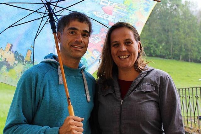Unsere Gewinner: Christoph Ritthaler und Juana Kofler