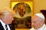 Fotos: Der Papst empfängt Donald Trump