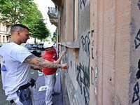 Der Kampf gegen Graffiti im Grün geht weiter