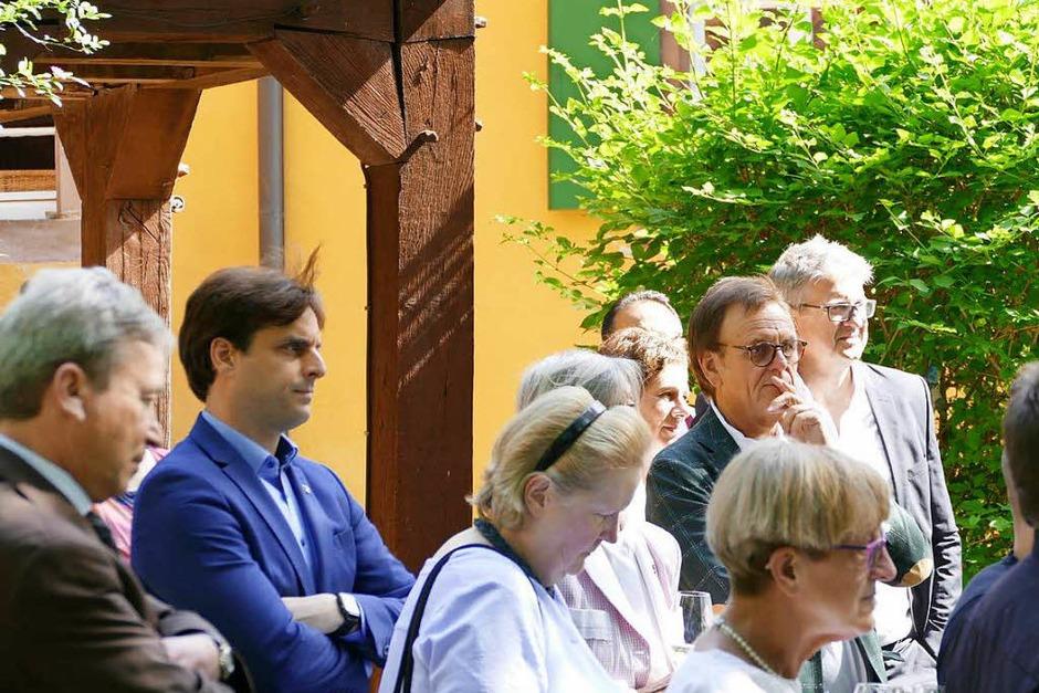 Vor der malerischen Kulisse von Schloss Mahlberg wurde die neue Ausgabe von baden. vorgestellt. (Foto: Janis Adam)