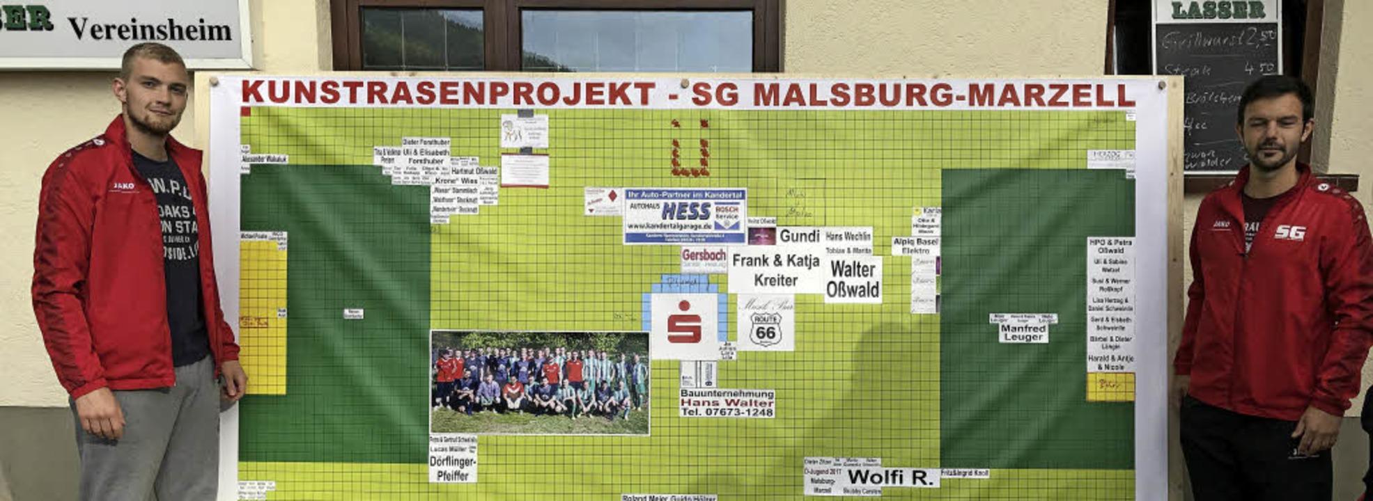 Spendertafel SV Malsburg  | Foto: Rolf-Dieter Kanmacher