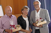 Günter Schlecht und Fritz Lenz verlassen Lörracher Kreistag
