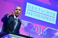Euphorischer Empfang für Barack Obama in Baden-Baden