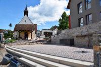 Dorfplatz in Rümmingen wird zur Einweihung nicht fertig – Provisorium geplant