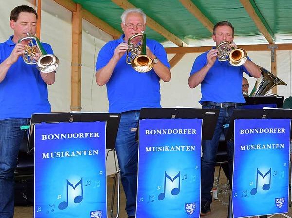 Die Bonndorfer Musikanten zogen alle Register.