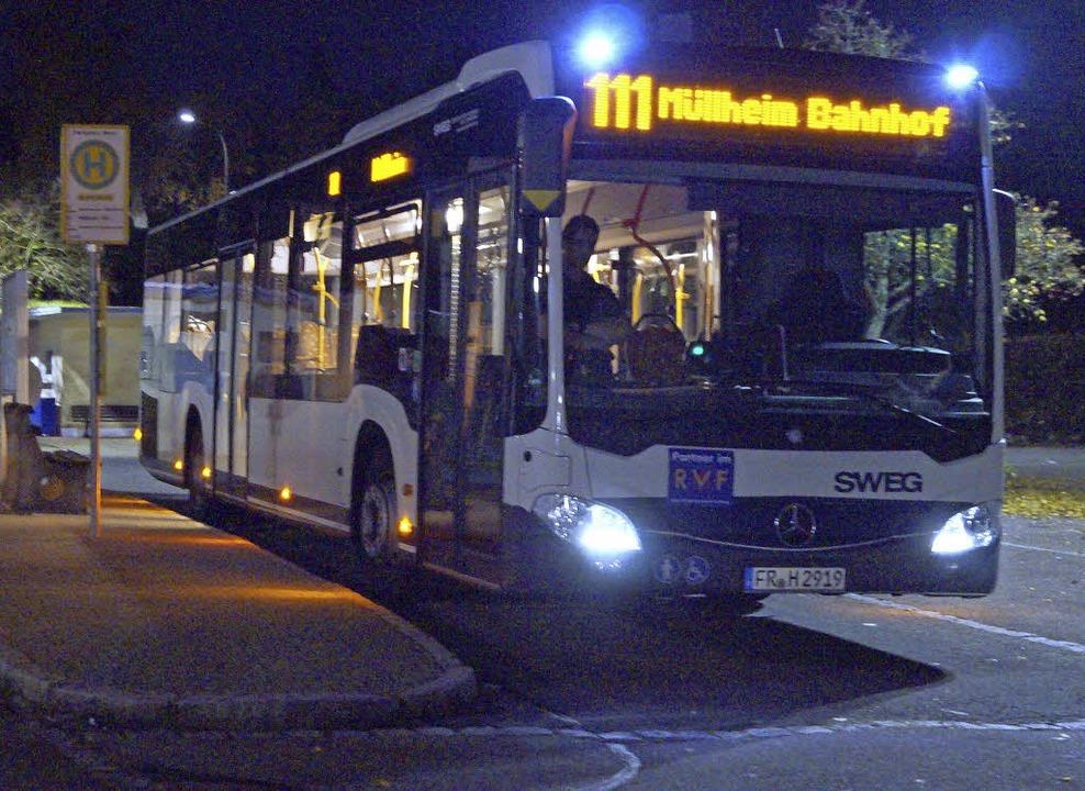 Wie geht's weiter mit dem Abendbus nach Badenweiler?    Foto: Hartenstein