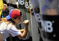 In Venezuela gehen die Proteste mit unverminderter Härte weiter